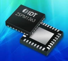 Dual-Phase Digital Controller IC supports multiple configurations.