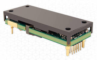 PMBus-Compliant DC/DC Converter offers 300 W in 1/8 brick design.
