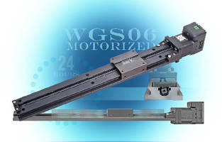 Motorized Linear Stages offer optimized moment load stability.