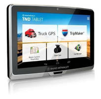 Truck-Specific GPS Tablet features 7 in. screen.
