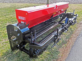 Agricultural Seeder is available with high-capacity hopper.