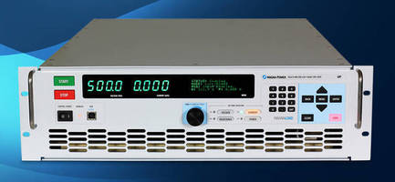 DC Electronic Loads come in ratings ranging from 1.25 to 120+ kW.