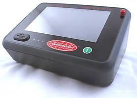 Dot Peen Marking Controller incorporates touchscreen UI.