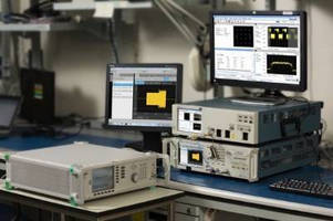 Real-Time Oscilloscope offers EVM measurements out to 70 GHz.