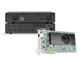 PCIe Cards and Appliances support multi-encoding and decoding.