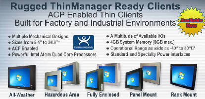 VarTech Systems Inc Launches ThinManager Ready Thin Client Product Line