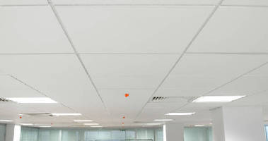 Acoustic Ceiling Panels offer NRC of 0.60.