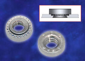 Self-Clinching Nuts install with minimal footprint.