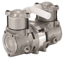 Lightweight Variable Output Pump has twin-cylinder design.