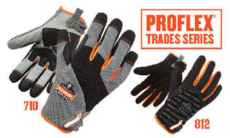 Utility Gloves feature color-coded accent system.