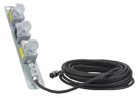 Explosion Proof Extension Cord provides 3 receptacles.