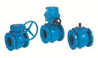 Round-Port Eccentric Plug Valves come in diverse configurations.