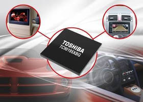 Dual-Picture Video Processor suits automotive display panels.