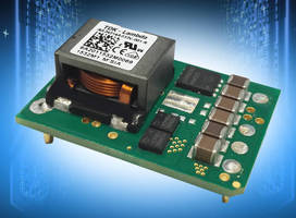 Non-Isolated Wide Range DC/DC Converters provide negative outputs.