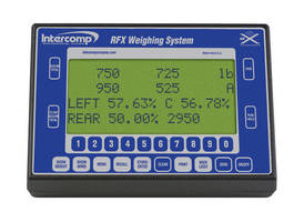 Handheld Weighing Indicator displays data from up to 4 scales.