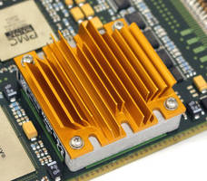 Heat Sinks cool brick DC/DC converters and power modules.