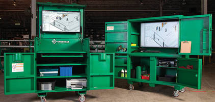 Compact Cabinet Workstations improve jobsite productivity.