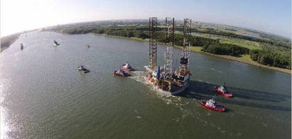 WEG Motors Drive Safe Jackup Operations in the North Sea
