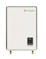 Infrared Tankless Water Heater uses quartz elements.
