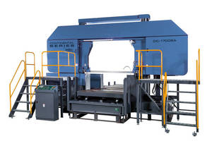 Metal Cutting Band Saws have dual-column, large-capacity design.