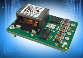 Wide-Input Non-Isolated DC/DC Converters provide negative outputs.