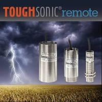 Ultrasonic Sensors serve remote liquid level applications.