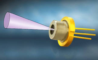 Pulsed Laser Diode features integrated micro lens.
