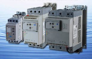 Three-Phase Soft Starters suit water pumps up to 75 hp.