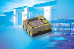 Ambient Light Sensor offers detection from 0 lx to 167 klx.