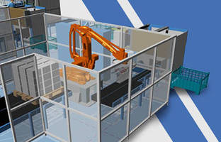 3D Software facilitates plant design and factory layout.