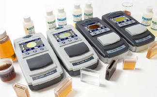 Color Comparators deliver accurate electronic readings.