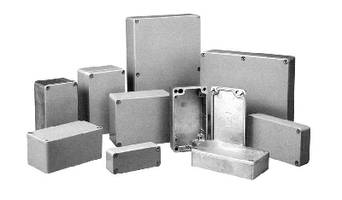 Die-Cast Aluminum Boxes feature IP68 rating.
