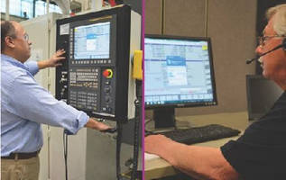 Machining Centers feature diagnostic communication system.