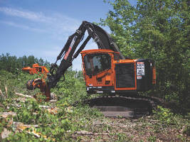 Harvesters/Feller Bunchers offer swing torque of 50,787 lb-ft.