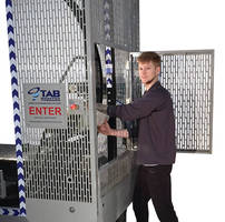 Orbital Stretch-Wrapping Machinery features safety guarding.