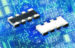 Thick Film Chip Resistor Arrays supplement thin film arrays.