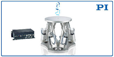 Compact 6-Axis Hexapod handles loads to 130 lb.
