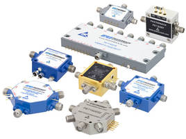 PIN Diode Switches cover frequencies from 10 MHz to 67 GHz.