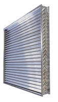 FEMA-Rated Aluminum Grille protects storm shelters, safe rooms.