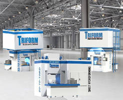 Sheet Hydroforming Presses feature integrated tool change.