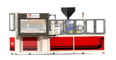 Injection Blow Molding Machine outputs 1500-4000 bottles/hr.