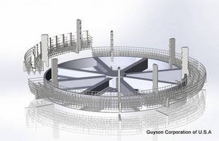 Guysons SP-10 Custom Grit Blaster for Batch Processing Gas Turbine Blades