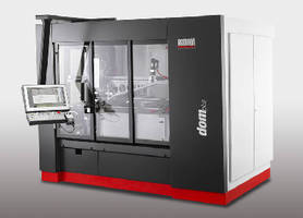 Four-Axis Grinding Center offers automated loading capacity.