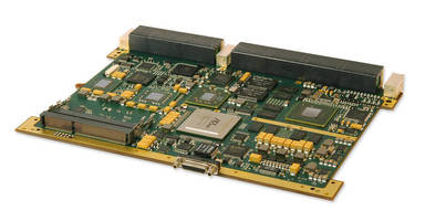 Multiprocessor drives data-intensive DSP application performance.