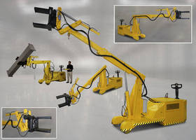 Self-Propelled Mobile Manipulator improves safety, efficacy.
