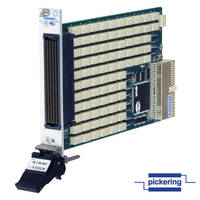 High-Density 2 A PXI Relay Module has 83 SPDT relays.