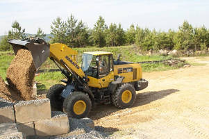 Wheel Loader suits agriculture and residential applications.