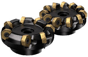 Multi-edge Milling Cutter features positive cutting action.