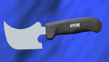Hand Knife features ergonomic design and sure grip.