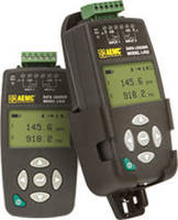 Two-Channel Datalogger records DC voltage/current, pulses, events.
